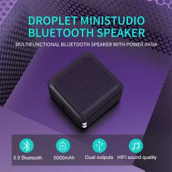 la Banca di potere della casella dell'altoparlante di Ministudio MP3 Bluetooth della gocciolina 12W