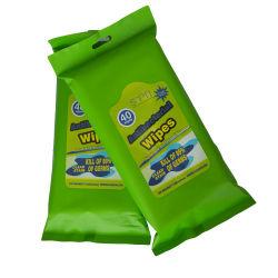 Tampon d'alcool antibactérien 99 % Super Cleaningdisposable de surface de l'IAP de stérilisation médicale et le Détergent Désinfectants lingettes humides