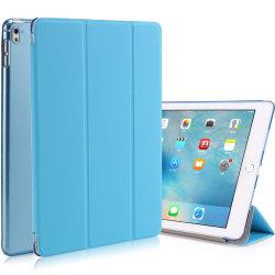الغطاء الخلفي الصلب من الجلد PU مضاد للصدمات لعلبة جهاز iPad اللوحي