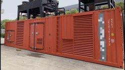 Горнодобывающая промышленность, недвижимость, электростанции, транспорта используется 1000 Ква, 1500 Ква, 2500 ква дизельных генераторах, Великобритания / Mitsubishi двигатель типа контейнера генераторах