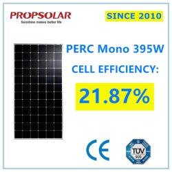 확실한 급료 Perc 최고 가격을%s 가진 광전지 Monocrystalline 395W PV 태양 에너지 힘 위원회 모듈