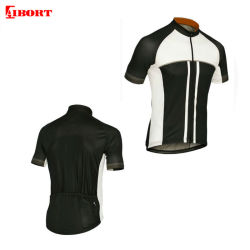 Aibort Polyester Dry Fit d'impression par sublimation Mens cyclisme d'usure (L-CY-108)
