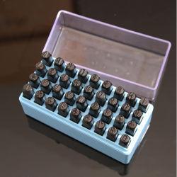 Sello de metal de alta calidad marca de número de joyas de herramientas de JUEGO PUNZONES