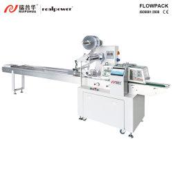 Schweizer Rollen-/Schicht-Kuchen-automatische führende Verpackmaschine-Systems-Lösung