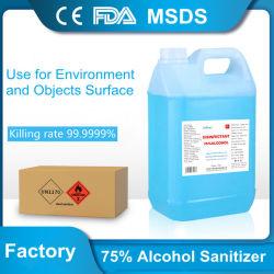 Нет никаких метанола Несвежий дезинфицирующие средства для распыления дезинфицирующего средства этиловый спирт 75% погибает 99% микробов медицинского класса File Sanitizer убивает Mrsa, H1N1, H5N1