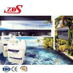 エポキシ樹脂ホーム床が付いている防水3D床のペンキは飾る