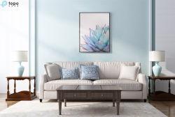 Commerce de gros cinq ensembles de plantes vertes de l'Art de la peinture murale (MR-YB6-2058E)