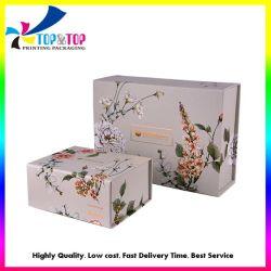 Custom переработанных жесткой печать магнитным складывание бумаги свадебные платья покрывалами косметический в подарочной упаковке производителя .