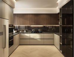 أفضل سعر تصميم فاخر ذو تصميم أبيض حديث لامع عالي المستوى أثاث مطبخ مخصص