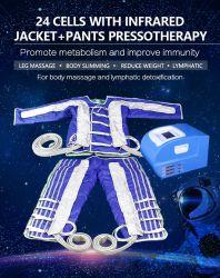 L'infrarouge lointain pressothérapie Slimming Machine avec 24 sacs à air
