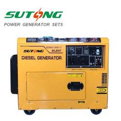 L'aria ha raffreddato un generatore diesel silenzioso portatile da 5000 watt per la casa/partito usati