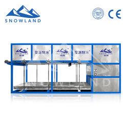 La machine à glace nouvelle usine d'origine mis à niveau la machine à glace intégrée pour les poissons d'équipement Ice-Making bloc, les légumes et de l'industrie chimique