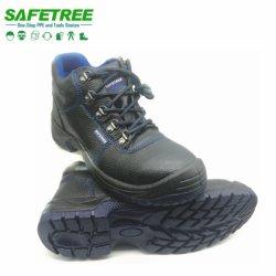 Safetree CE EN20345 S3 Water-Proof работы защитные ботинки для строительства промышленного использования велюр обувь из натуральной кожи