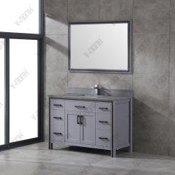 48inch Nieuwe Stijl Stevige Houten Badkamer Vanity Van Hoge Kwaliteit