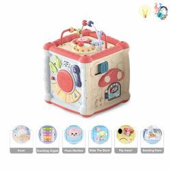 Os brinquedos para bebés Multi Funções Toy Sabedoria Boxy Órgão batida do tambor preto