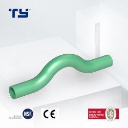 Pn25 de Kromming van de Omleiding van de Montage van de Pijp van de Systemen van de Leidingen van de Druk PPR/Plastic met StandaardOEM van de Aanbieding DIN8077/8088