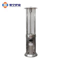 aço inoxidável Round do aquecedor do tubo de vidro