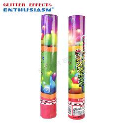Het kleurrijke Geslacht openbaart de Confettien van het Kanon van de Levering van de Popcornpan van de Partij met Blauw of Roze Poeder Holi