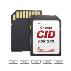 China-Fabrik Wholesales kundenspezifisches Firmenzeichen-Mikrotaiwan Cid Karte 16GB 32GB 64GB Ableiter-TF für Navigation