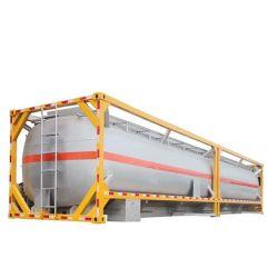 20FT/40FT 21-50CBM/diesel de pétrole brut Le pétrole et le transport de pétrole de carburant du réservoir en acier au carbone Conteneur du réservoir de stockage à la norme ISO