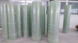 Lamina piana composita della vetroresina trasparente rivestita FRP GRP del gel in rullo per la finestra