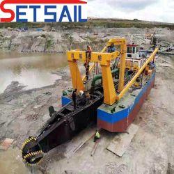 Motore diesel Caterpillar /motore diesel Cummins/ comando idraulico/sabbia fluviale /lago Attrezzatura per dragaggio a aspirazione per fresa da 22 pollici/fango con ancoraggio Braccio