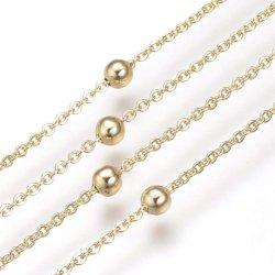 Venda por grosso banhado a ouro Rose Gold em aço inoxidável Bracelete Anklet Jóias para senhora Colar tornando