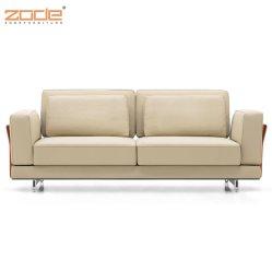 Sofá moderno, couro italiano inoxidável 431 sofá moderno em couro