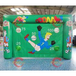 الألعاب الرياضية في الهواء الطلق هدف كرة القدم لعبة الرماية