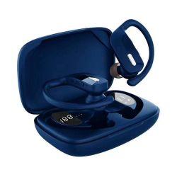 T17 exécutant des jeux de sport étanche Tour d'oreille casque Mini-écouteurs intra-auriculaires écouteurs sans fil écouteurs TWS T17 avec affichage LED