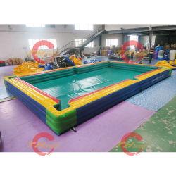 8X5X0.5mh Pé Inflável Futebol Robalo bolas de bilhar, piscina inflável futebol de mesa snooker jogos de desporto