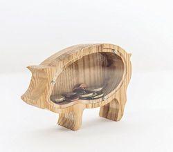 Confezione di Piggy in vinile con logo personalizzato Amazon Hot sale Banca per regalo
