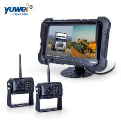 720p Vue arrière du chariot en marche arrière sans fil Système de caméra avec 2 caméras et de recul HD DVR intégré