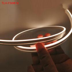 LED flexibles impermeables tira SMD2835 de la luz de neón DC24V para la decoración iluminación