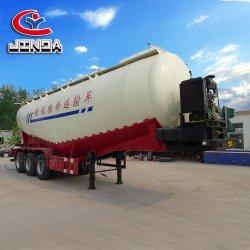 China-Lieferant Jinda 35 Cbm Nahrungsmitteltanker-halb Schlussteil-Massenkleber-Schlussteil-Tanker-halb Schlussteil/Tanker-Schlussteil-/Kleber-Tanker/Nahrungsmitteltanker für Verkauf