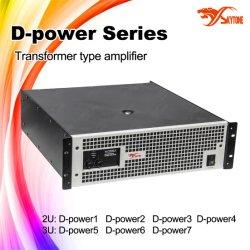 D-macht 2000W de Professionele AudioVersterker van de Club van de Nacht