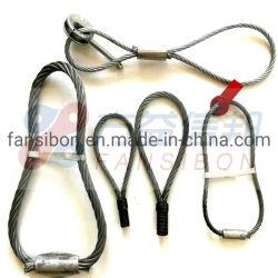 Comprare l'uso di sicurezza imbracatura infinita della fune metallica per i prodotti della gru