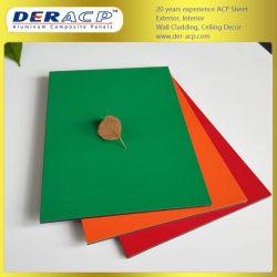 6мм/0,5 Огнестойкие алюминиевых композитных пластину для заслонки