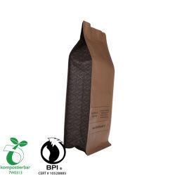 Sacchetto concimabile a chiusura lampo dell'iuta dell'alimento per la fabbrica Cina del caffè
