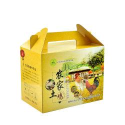 Corrugado Plegado personalizado cajas de papel de embalaje de alimentos y protección del medio ambiente personalizado cajas de huevo