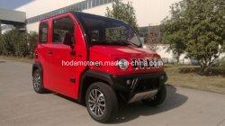 ヨーロッパの普及した耐久財4000W EECのジープLCD 4の荷車引きの電気自動車50km/H