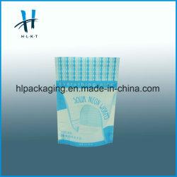 Refermable d'aluminium laminée de papier kraft sacs en plastique