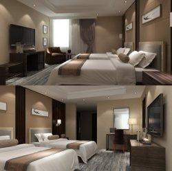 5 つ星ホテルプロジェクト (NCHB-001001) のためのベニアホテルの寝室の家具が付いている湿気の証拠の Laminate 合板