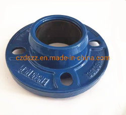 PVC PEの管のための砂型で作る速いフランジのアダプター
