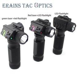 Taktischer Aluminiumhandvordergriff-rote Laser-Taschenlampe mit T6 600 Hight hartem Licht der Lumen-LED