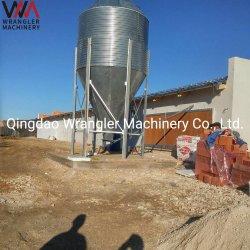 Equipo avícola comercial suelo sistema de cría de pollos parrilleros casa