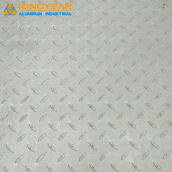 Boa qualidade de alimentação 2A02/5052/3105/300311/5uma placa de Bitola de alumínio para piso Anti-Skid