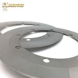 لوحة مجعدة Yg13X سمنت Tungsten Carbide الشفرة الدائرية