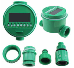 庭の潅漑の自動下水管のソレノイド弁の電子デジタル水タイマー