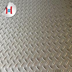 ASTM 304 Fabricante decorativos en relieve la hoja de acero inoxidable fabricado en China